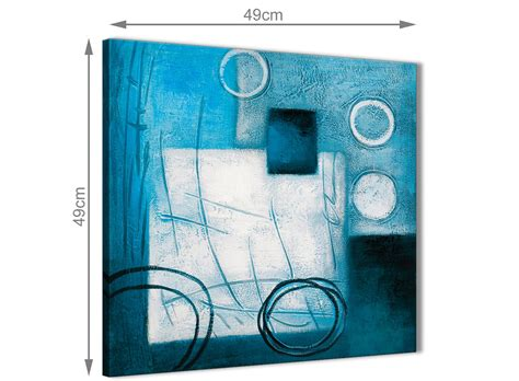 abstract bathroom wall teal white painting kitchen canvas pictures accessories
