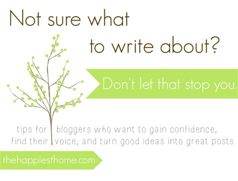 quot i don t what to write about quot 4 ways to turn writer s block into great posts the
