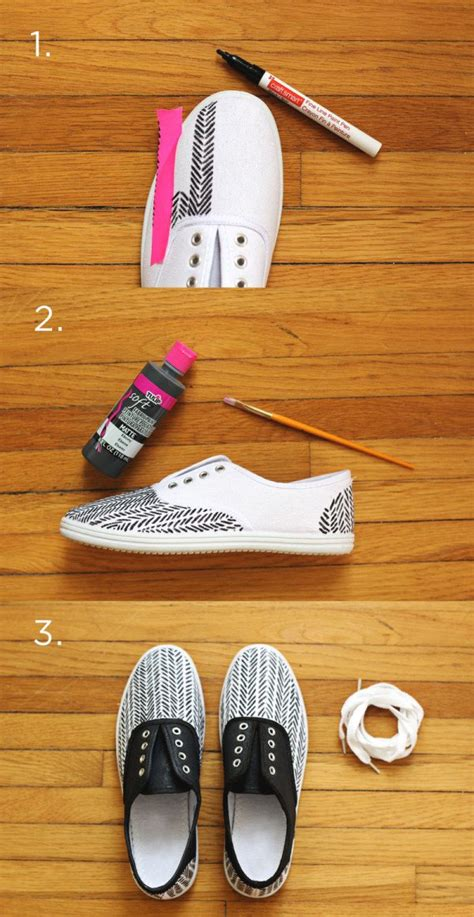 shoes diy 20 amazing diy sneakers makeover ideas