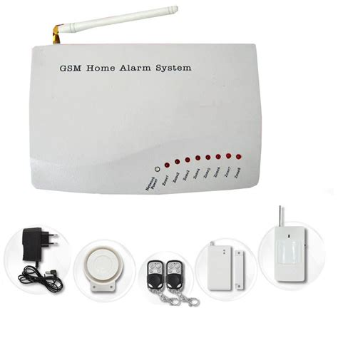 wireless home wireless gsm home alarm system