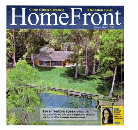 my homefront ads 21 may 2017 in the citrus county