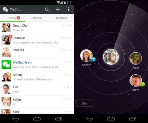wechat for android wechat 5 2 for android brings new ui and features