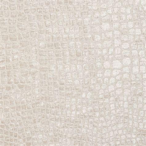white upholstery off white alligator print shiny woven velvet upholstery