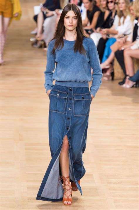 Soyou Denim Skirt 6029 Rok Maxi Rok Denim Rok Berkualitas 8 chic sassy plus size denim skirts to wear this summer and fall stylish