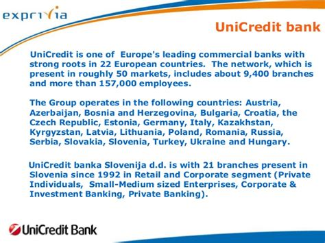 unicredit bank banking increase efficiency in corporate lending the success