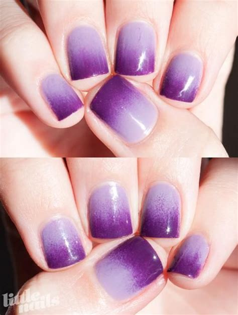 Nail Also Search For Violet Femme Via Ombre Nail Hair Day And Then Some