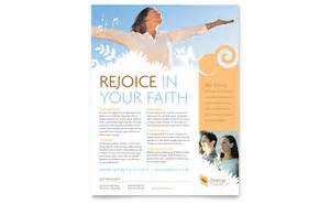 Free Religious Flyer Templates by Christian Church Flyer Template Word Publisher