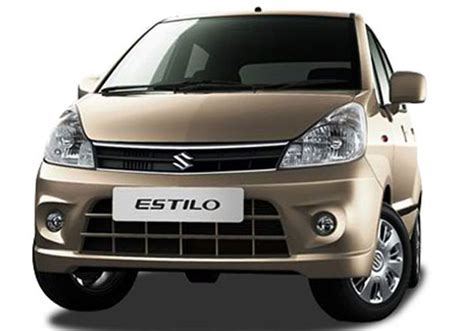 Maruti Suzuki Zen Specifications Maruti Zen Estilo In India Features Reviews