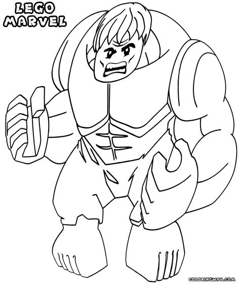 Lego Marvel Coloring Pages by Lego Coloring Pages Coloring Home
