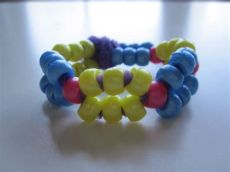 pony bead bracelet ideas bracelet with pipe cleaners and pipe cleaners
