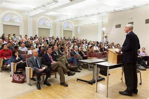 At U.Va., AAU President Champions Value of Liberal Arts ... Hunter Rawlings Facebook