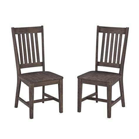 Chic Dining Chairs Concrete Chic Dining Chair Pair Homestyles