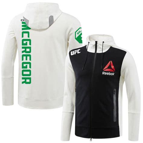Jaket Ufc Trainer Sweater Hoodie Zipper conor mcgregor ufc reebok hoodie