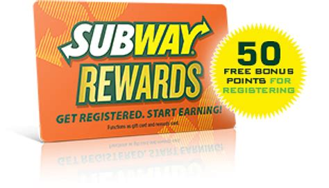 Rewards For Gift Cards - subway gift card quick fix medium