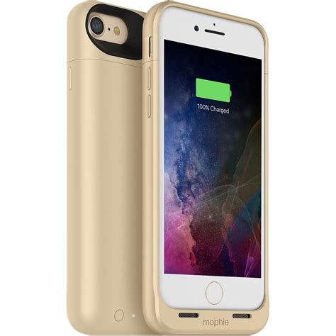 mophie juice pack air for iphone 7 and iphone 8 gold 3781 b h