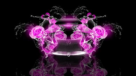 Lexus LF LC Fantasy Rose Flowers Car 2013   el Tony