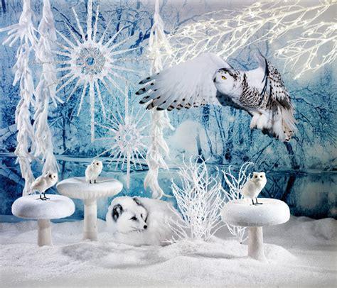 Winterdeko Garten by Winterdekoration F 252 R Schaufenster Balkon Garten