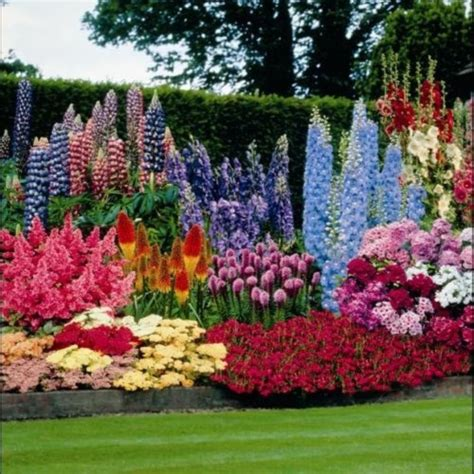 Easy Flower Garden Ideas Simple Fresh And Beautiful Flower Garden Design Ideas 30 Wartaku Net