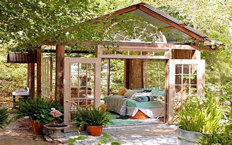 sheds   perfect escape  tips  home