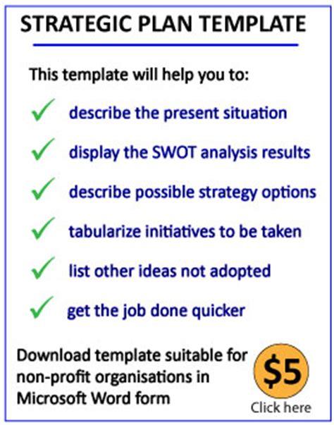 strategic planning: download a strategic plan template