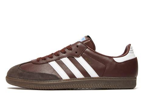 lyst adidas originals samba og in brown for