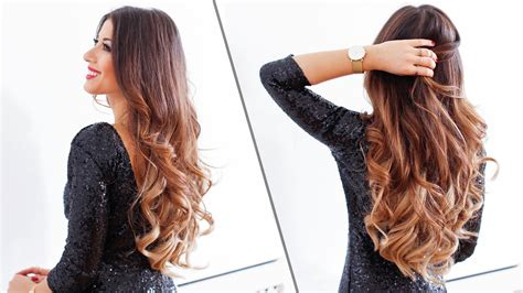 images of hair 5 minute holiday waves luxy hair youtube