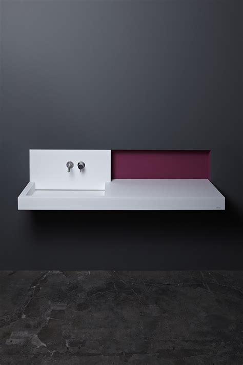 Evier Corian by 201 Vier Inox Et Vasque En Corian 2 Lavabos Minimalistes De