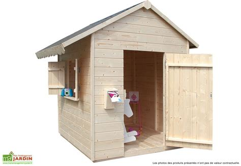 leroy merlin abris de jardin 455 maison enfant bois sweety 12mm 161x133x158cm jardipolys
