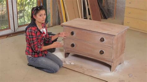 how to sanding painting furniture with layla