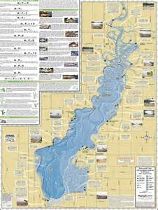 lake maps petenwell lake castle rock lake fold map