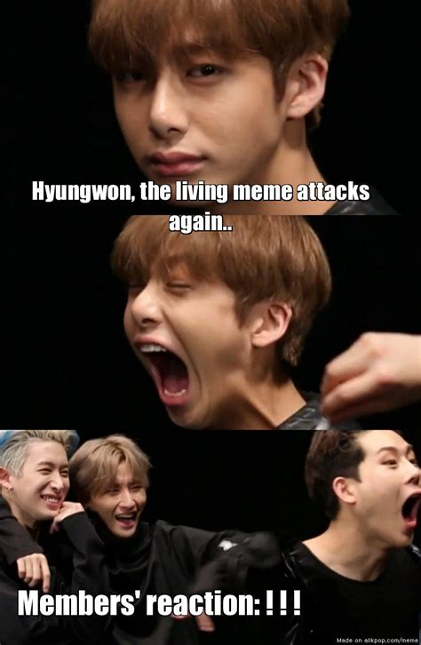 X I Meme - monsta x s living meme allkpop meme center