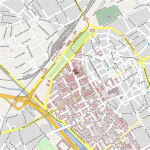 Reims France Map by Reims Map
