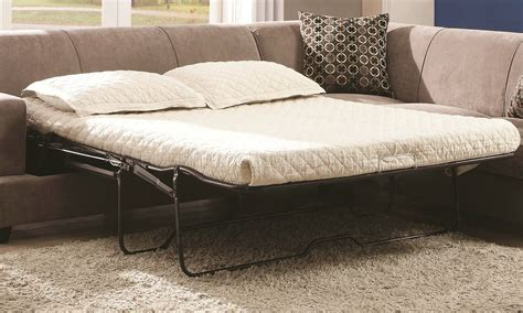 Coaster Sectional Sofa Tess Sectional Sofa By Coaster 500727 In Beige Fabric W Sleeper