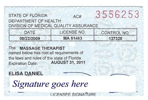 therapy registration photo store fl therapy license renewal