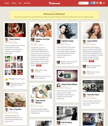 pinterest layout website best pinterest themes