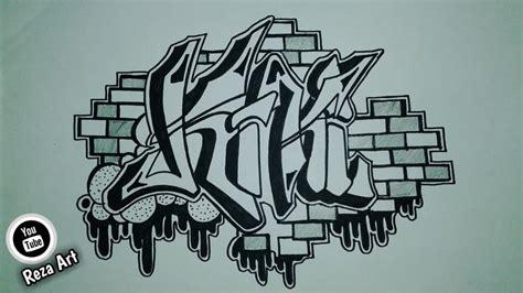 grafiti grafitiindonesia  membuat nama grafiti kiki