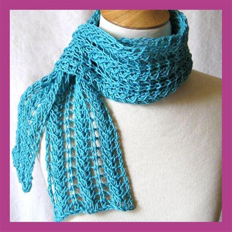zig zag shawl pattern zig zag knit lace scarf pattern tutorial craftsy