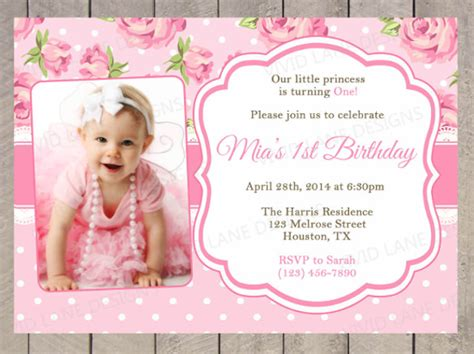 1 year birthday invitation templates free 1 year birthday invitation templates free best happy