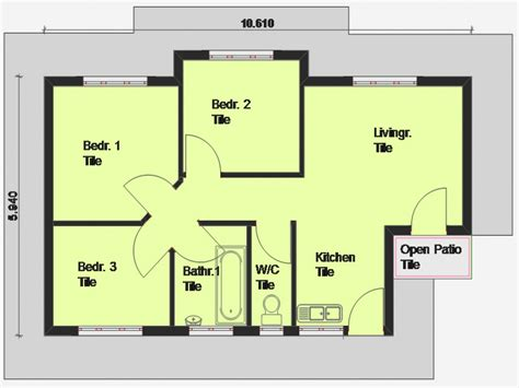 modern house plan awesome modern house plan
