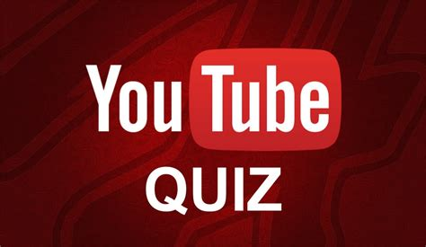 Quiz Questions Youtube | youtube quiz interactive video youtube