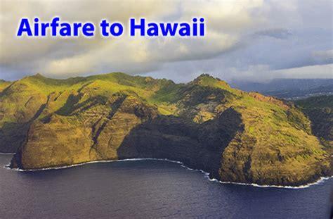 find cheap airfare  hawaii air  hawaii