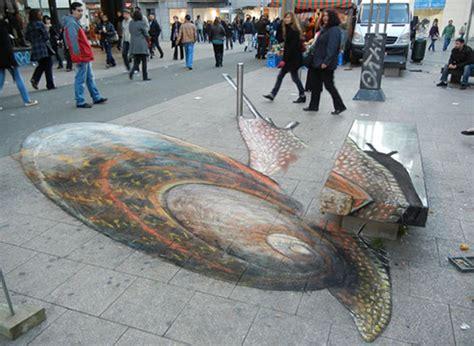 3d drawing website la lumaca gigante di julian beever a new york