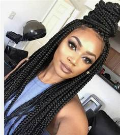 box plaits hairstyles 65 box braids hairstyles for black women