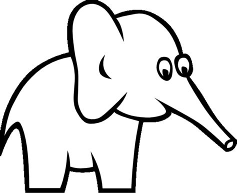 black and white picture books for babies elefante para colorear 2 dibujos