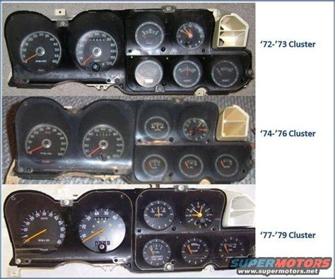 info 72 79 clusters and wiring the ford torino page forum page 1