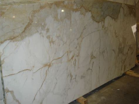 Calcutta gold marble slab   Kitchen Inspiration
