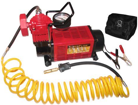 q industries mv50 12 volt high volume air compressor quadratec