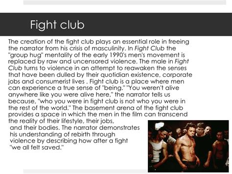 Club Essay by Fight Club Essays Fight Club Essay Fight Club Essays You Do Not Talk About Fight Club I Am