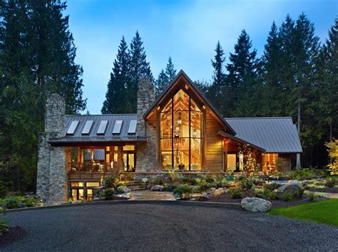 beautiful mountain houses exterior of cedar home contemporary exterior