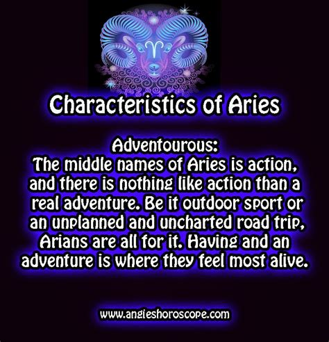 aries traits and characteristics images
